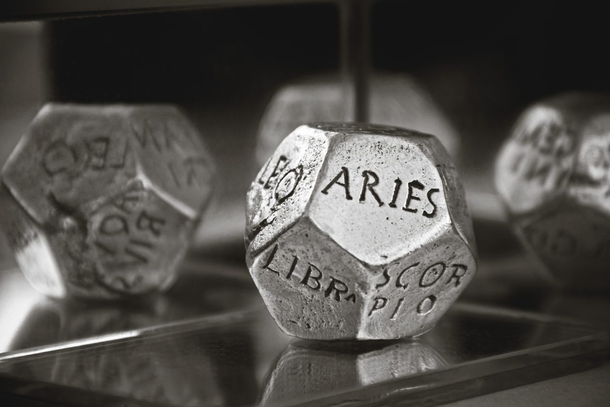 Aries rolling the dice