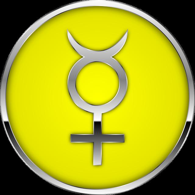 astrology mercury glyph