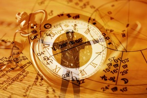 horoscope charts, time and people
